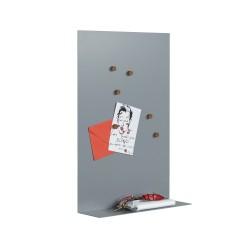 Tableau magnétique et étagère
