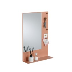 Miroir magnétique et étagère