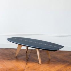 Table basse noire - Surf