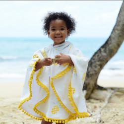 Poncho de plage enfant