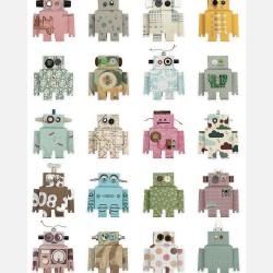 Papier peint - Robots