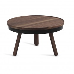 Table basse Plateau - Noyer