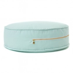 grand pouf salon- Menthe