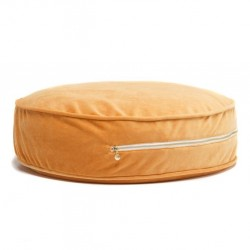 Grand pouf enfant couleur moutarde