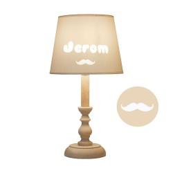Lampe à poser personnalisable - Moustache