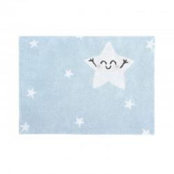 Tapis enfant - Star bleu