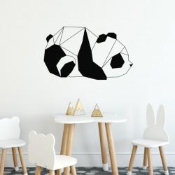 Sticker origami - Panda