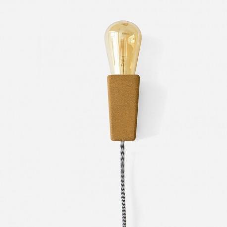 Lampe baladeuse en liège magnétique