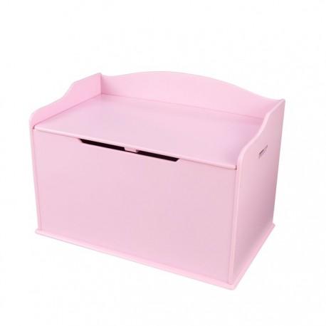 Banc & Coffre à jouets - Rose