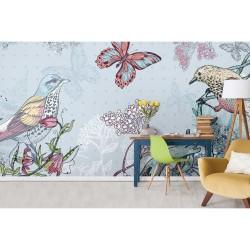 Papier peint Faune et Flore