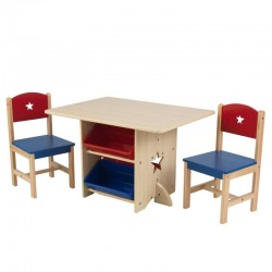 Ensemble table et chaise - Etoile