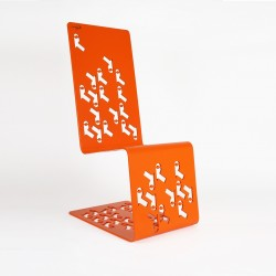Chaise de jardin en Acier - Orange
