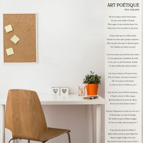 Papier peint - Verlaine