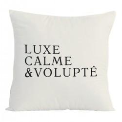 Coussin - Luxe, calme et volupté