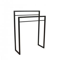 Porte serviette Duo - Noir