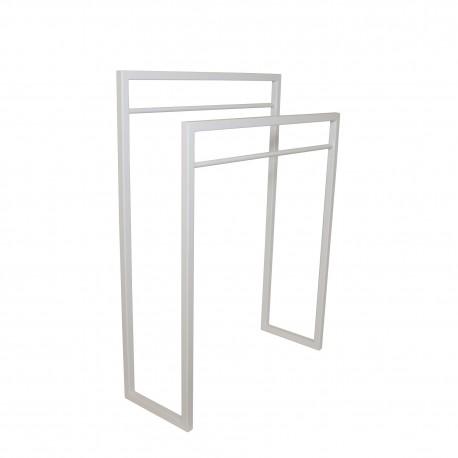 Porte serviette Duo - Blanc