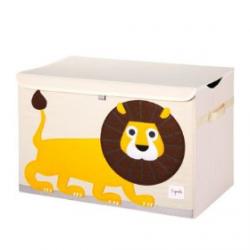 Coffre à jouets - Lion