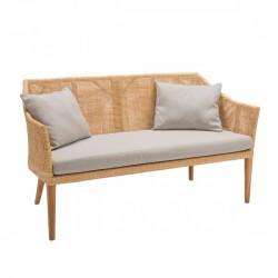 Canapé en rotin