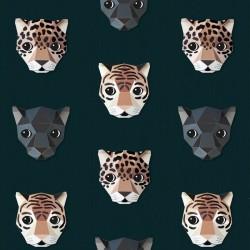 Papier peint Félins - panthere, tigre, jaguar