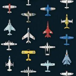 Papier peint 2 lés - Avions de chasse