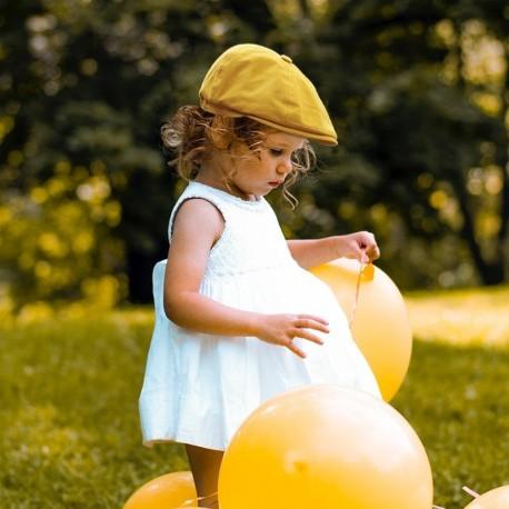 Béret Jaune pour les 2-3 ans
