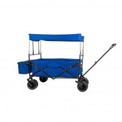 Chariot à tirer avec toit