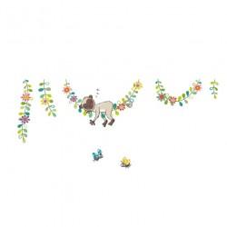 Sticker XXL - Singe sur sa liane