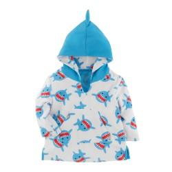 Poncho bébé et enfant - Requin