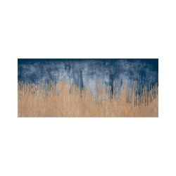 Tapis vinyle - Ciel et sable