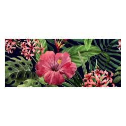 Tapis vinyle - Hibiscus
