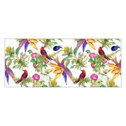 Tapis vinyle - Oiseaux de Paradis