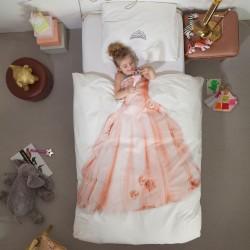 Parrure de lit - Princesse rose