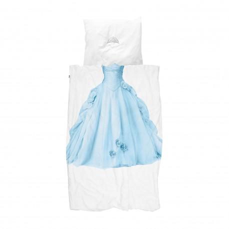Parrure de lit - Princesse bleue