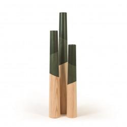 Bougeoirs géants - Vert