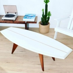 Table basse Surf - Shape Blanche