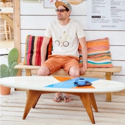Table basse blanche - Surf