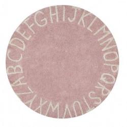 Tapis Alphabétique - Rose