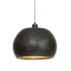 Suspension cloche - Naturescat noire