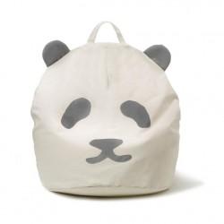 Pouf enfant Panda - Gris