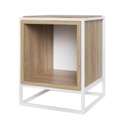 Table d'appoint et chevet - Boxer Blanc