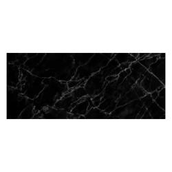 Tapis vinyle - Marbre noir