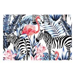 Tapis vinyle - Flamingo