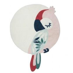 Tapis - Perroquet