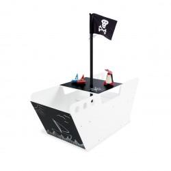 Bureau bébé - Bateau de pirate