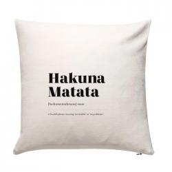 Coussin 50 x 50 - Hakuna Matata