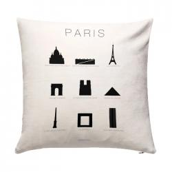 Coussin 50 x 50 - Paris