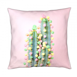 Coussin 3 tailles - Cactus chamallow