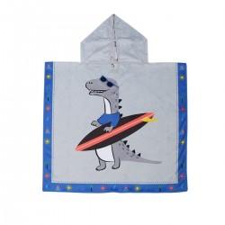 Poncho enfant - Dinosaure