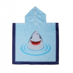 Poncho enfant - Requin