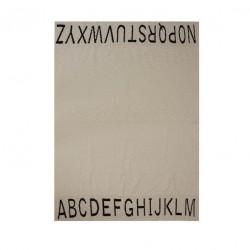 Plaid en coton - Alphabétique